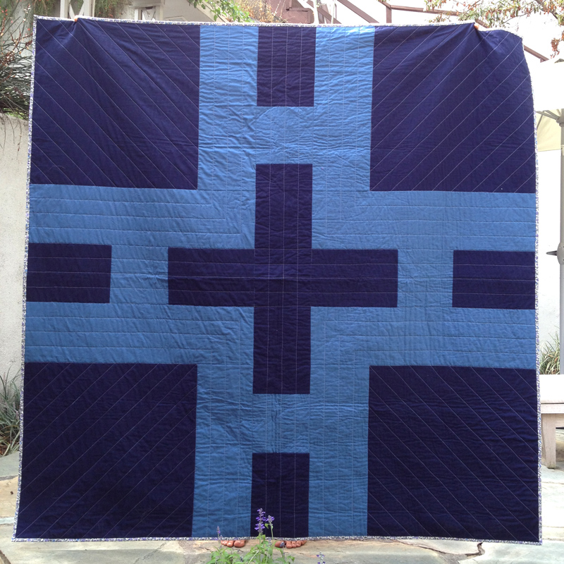 If she sleeps... hicks quilt front
